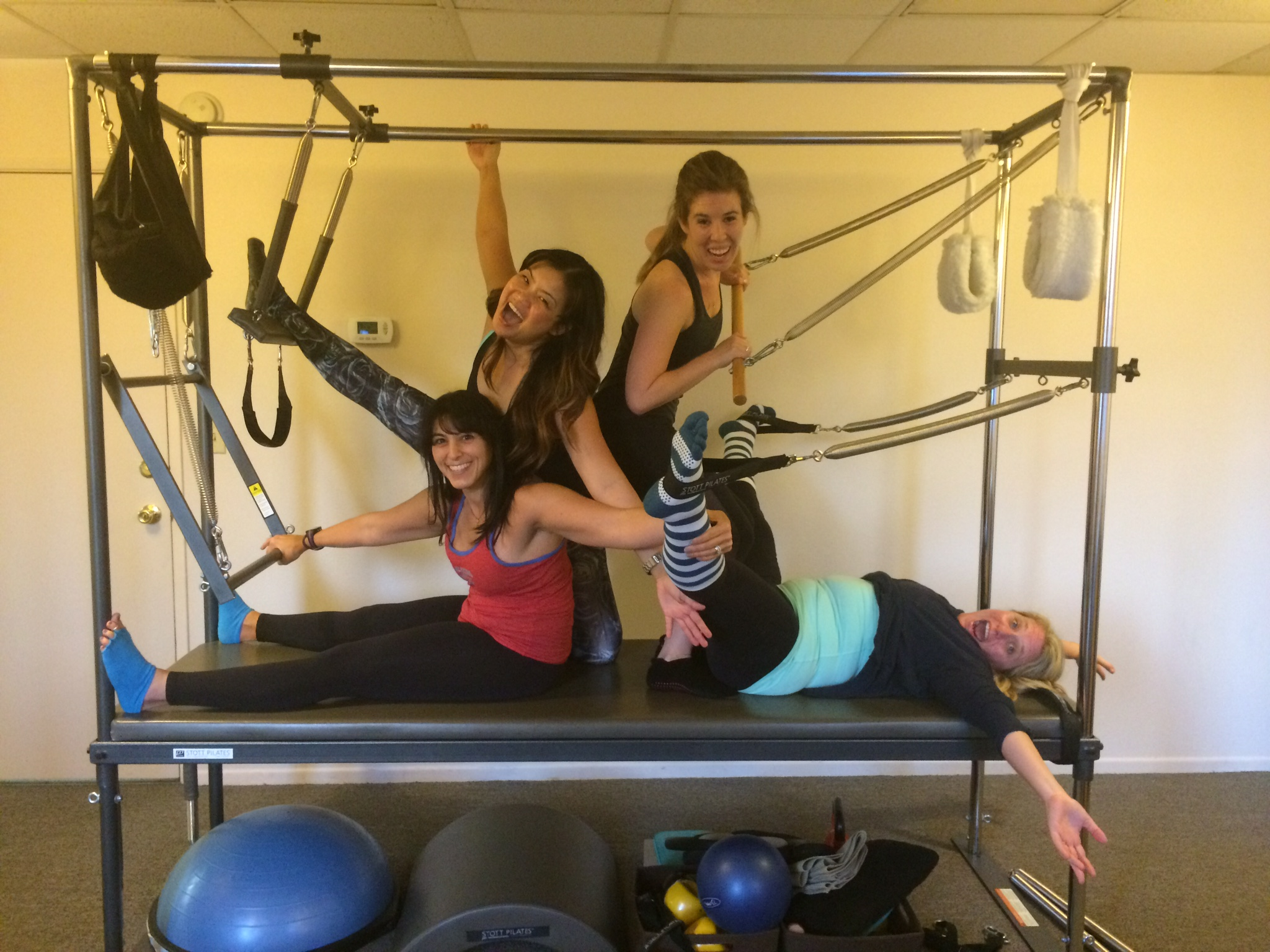 Reformer Mixed Level At Grace Anatomy Studio Sweat And Repeat