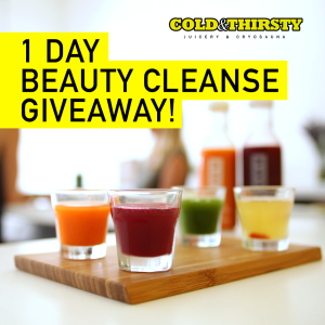 Beauty Cleanse Giveaway